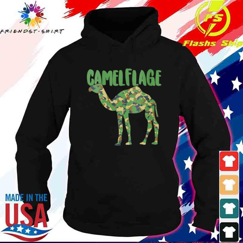 Camel Camouflage Pun Desert Animal Shirt hoodie