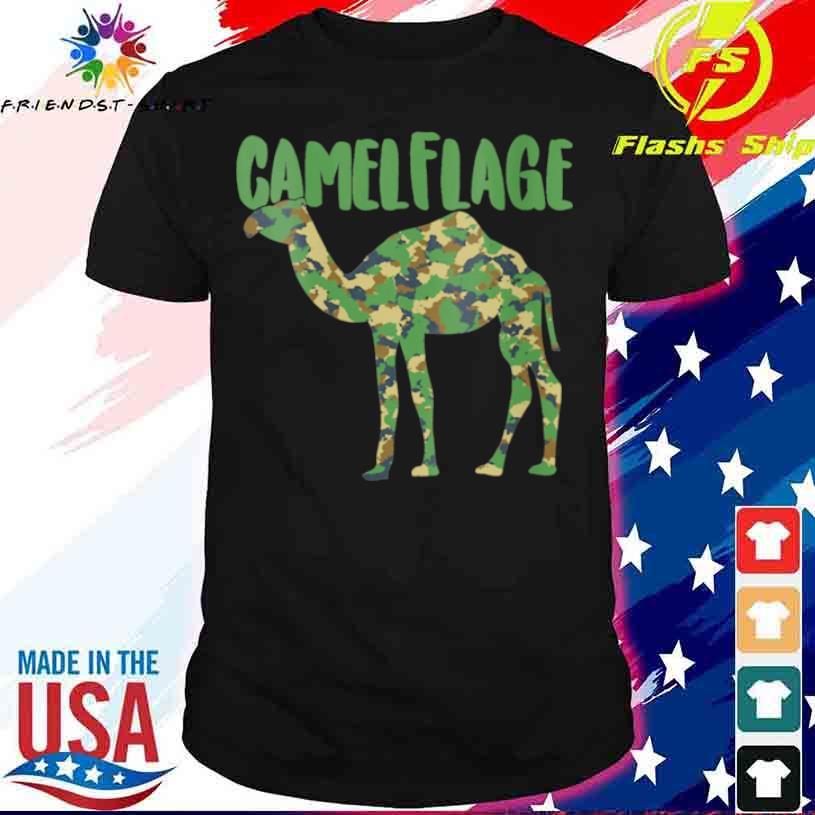 Camel Camouflage Pun Desert Animal Shirt