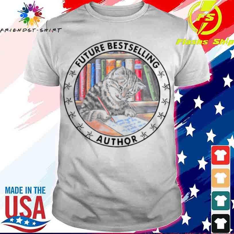 Cat Future Bestselling Author Vintage Shirt