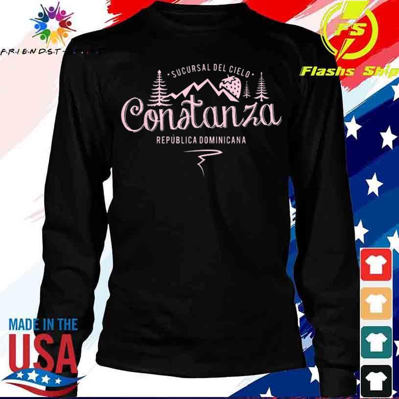 Constanza La Vega Dominican Republic Souvenir Shirt longsleeve