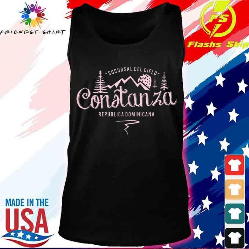 Constanza La Vega Dominican Republic Souvenir Shirt tank top