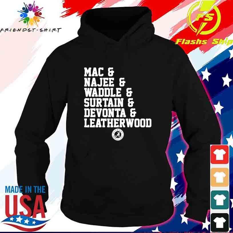 Alabama Crimson tide Mac Najee Middle Surtain Devonta Leatherwood s hoodie
