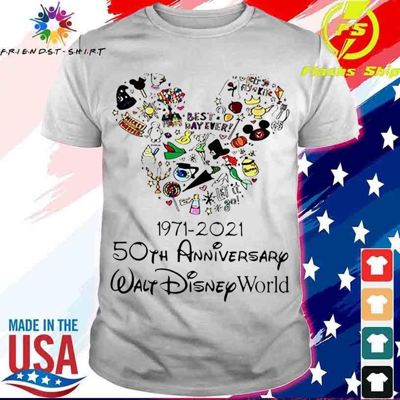 Best Day ever 1971 2021 50TH Anniversary Walt Disney World shirt