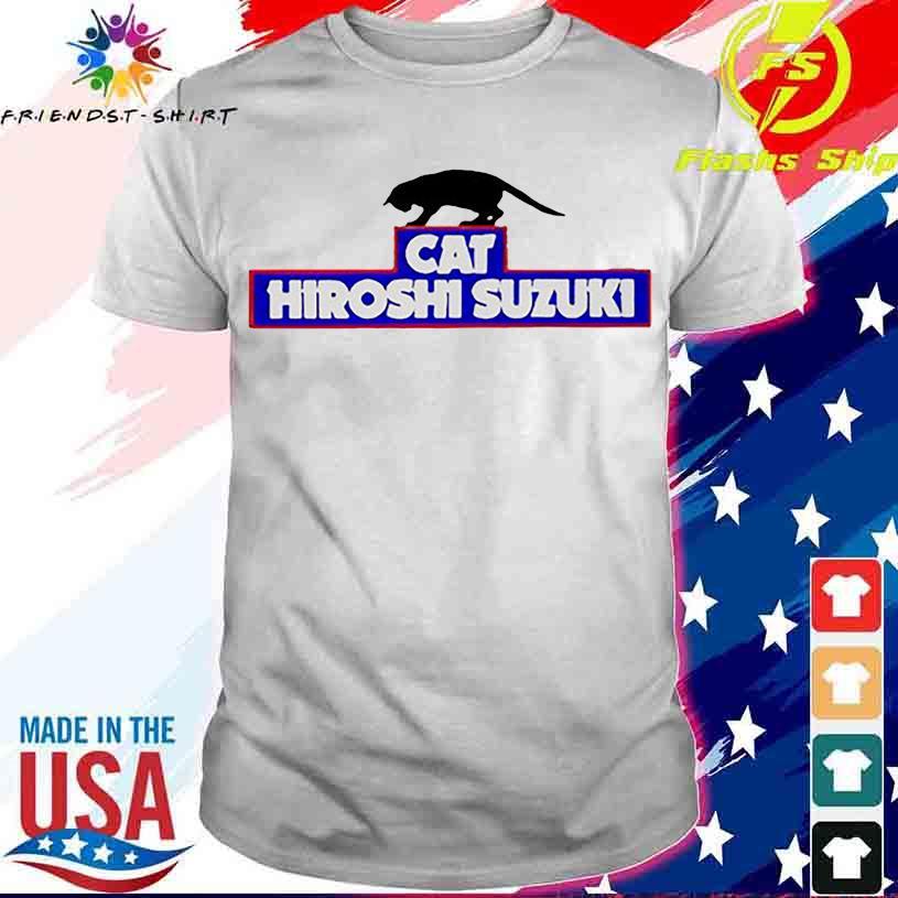 Black Cat Hiroshi Suzuki shirt