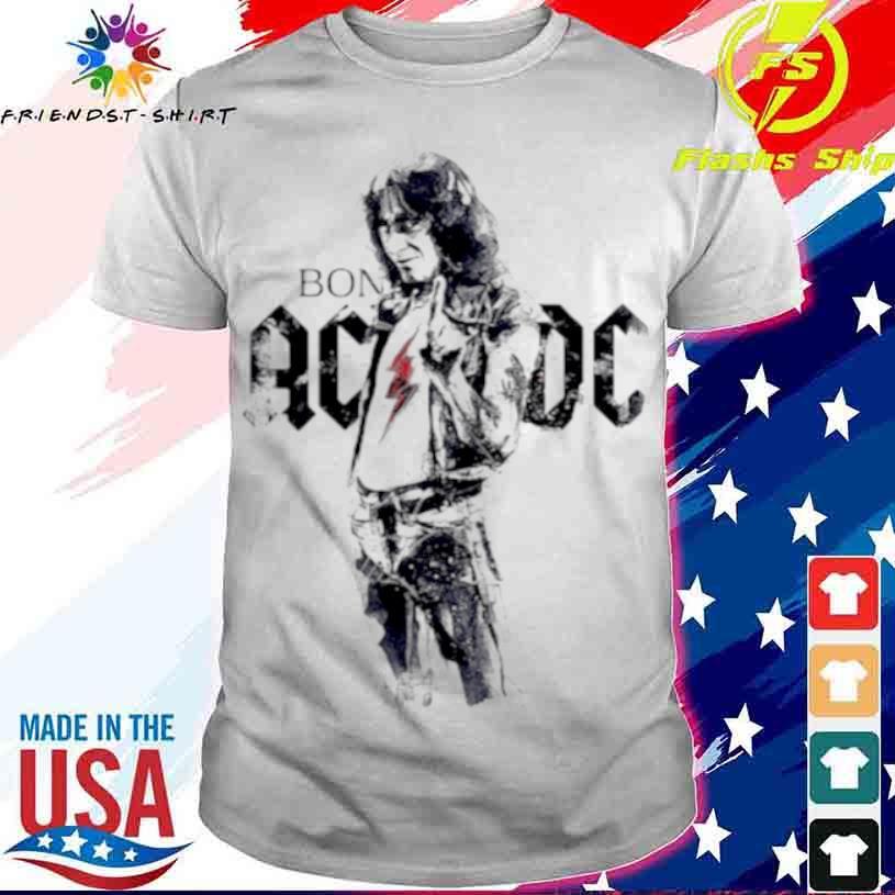 Bon Scott Legend Music AC DC Shirt